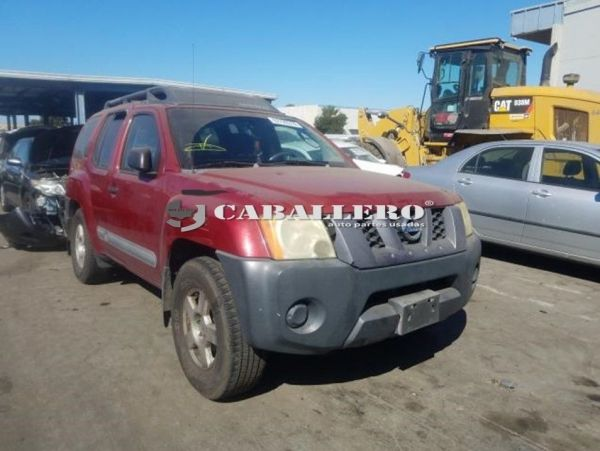 2005 NISSAN XTERRA OFF ROAD 4.0